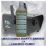 Macchina del fumo PARTY SMOKE con flacone di liquido in omaggio