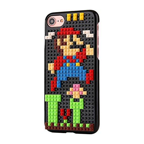 Liamoo® Apple iPhone 6 / 6s Baustein-Hülle / Schurzhülle / selber - bauen / gestalten / design / ausgefallen / Muster / Lachen mit Herz Springen