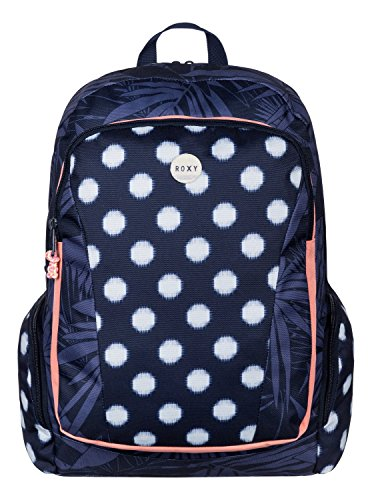 roxy-backpack-alright-borsa-da-donna-blu-small-ikat-dots-combo-peacoat-unica