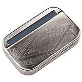 wthfwm Rouleau Automatique 110mm d'herbe de laminoir de Tabac à Cigarettes en métal...
