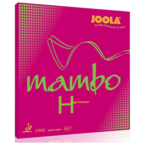 Joola RUBBER MAMBO H BLACK 2,0 MM - -0, Größe:2