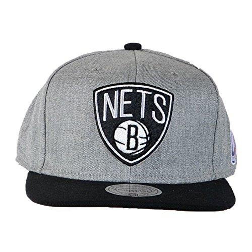 Mitchell & Ness - Casquette Snapback Homme NBA Team Pop - Brooklyn Nets