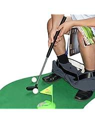 Kit de golf toilette WC - cadeau golf