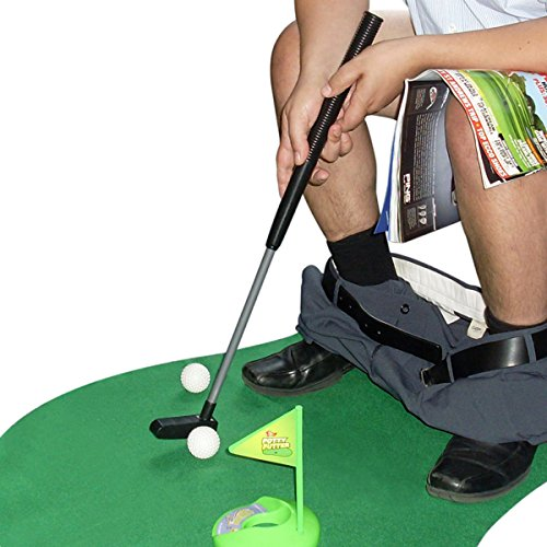 Kit de golf toilette WC - cadeau golf