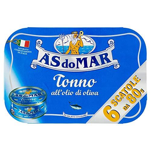 Asdomar Tonno all'Olio di Oliva - 4 Confezioni da 6