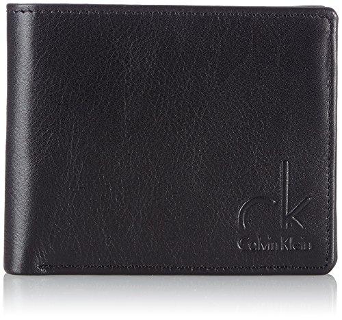 Calvin Klein Jeans Münzbörse One Way 2 5 Cc + coin Schwarz (Black) J5EJ500268