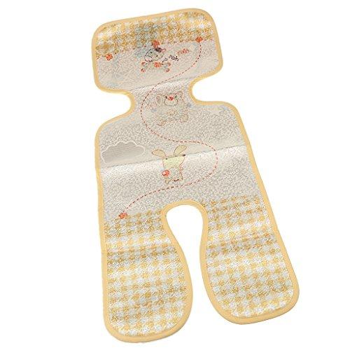 MagiDeal Universal Sommer-Sitzeinlage / Sitzauflage für Kinderwagen & Buggy | verringert Schwitzen Ihres Kindes - kühlt durch Luftzirkulation | Klima-Einlage auch für Babyschalen & Kindersitze geeignet - Tiere