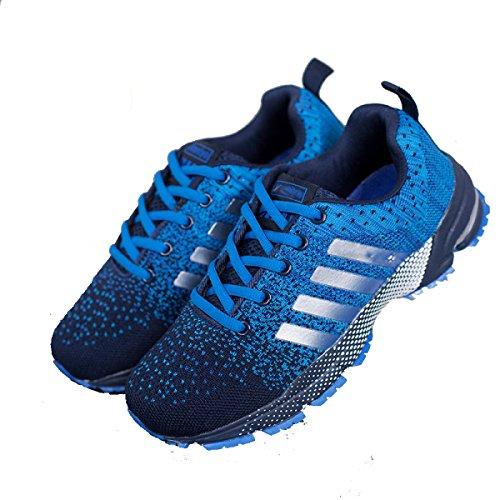 Mme CHT Sport De Printemps Et D'automne Occasionnels Chaussures Amoureux Blue