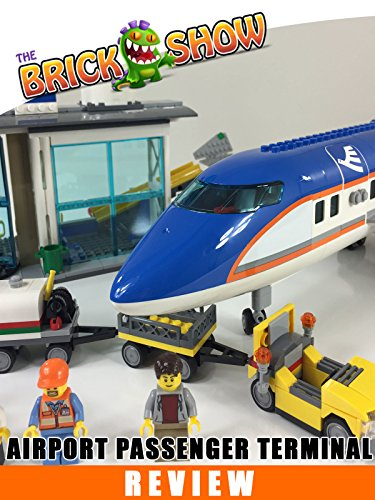 LEGO City Airport Passenger Terminal Review (60104) [OV] - City Filme Lego