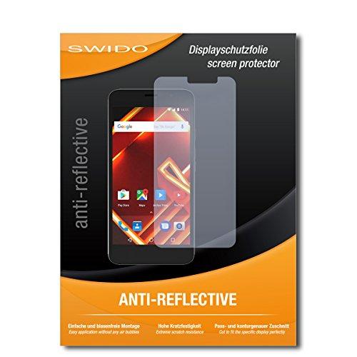 SWIDO Schutzfolie für Archos Access 55 [2 Stück] Anti-Reflex MATT Entspiegelnd, Hoher Härtegrad, Schutz vor Kratzer/Bildschirmschutz, Bildschirmschutzfolie, Panzerglas-Folie