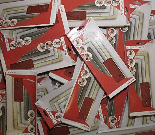 Bosch Schleifpapier 200 Stk 14fach gelocht 115x280 mm Schwingschleifer