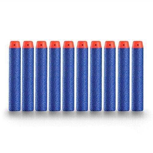 Topways® 100 Pcs 7.2cm Foam Dart Refill Bullet Strike Elite für Nerf Pfeile Pistole Gun Nerf N-Strike Elite Series Darts Blasters Spielzeugpistole ( blau 100 Stück )