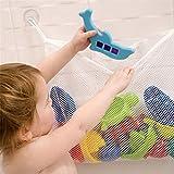 spielzeug netz aufbewahrung,Badenetz für Spielzeug,Starke Saugnäpfe mit Haken für sicheren Halt,Badenetz für Spielzeug,großes Badespielzeug Aufbewahrung für Kindern & Babys, Befestigung ohne Bohren