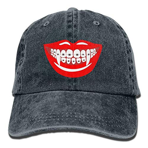 Hoswee Baseballmütze Hüte Kappe Braces Teeth Orthodontist Dentist Funny Halloween Unisex Truck Baseball Cap Adjustable Hat Military Caps (Pics 100 Halloween-80)