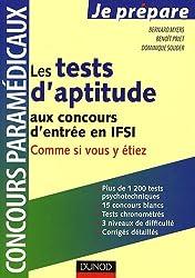 Tests d'aptitude aux concours d'entrée en ISFI