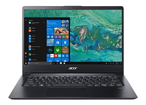 "Acer Swift 1 SF114-32-P55T Notebook con Processore Intel Pentium Silver N5000, RAM da 4GB DDR4, 128GB SSD, Display 14"" Full HD IPS LED LCD, Scheda Grafica Intel UHD 605, Windows 10 Home, Nero"