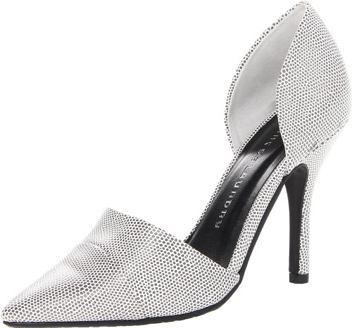 Chinese Laundry Side Kick Synthétique Talons Speckle Blk-Wht