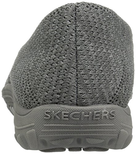 Skechers Womens Reggae Fest-Stitch Up Loafer gray