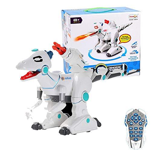 Xuanyang Roboter Dinosaurier, Fernbedienung Dinosaurier Spielzeug RC Elektrische Dinosaurier Spielzeug Mit Lichter Sound Kid Spielzeug Interaktive RC Drachen