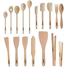 Uulki® 17 pezzi, ecologica, Set di utensili