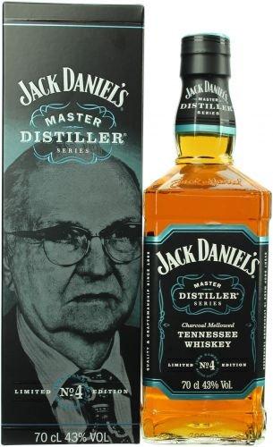 Jack Daniel's Master Distiller Series No. 4 con paquete regalo Whisky - 1 x 0.7 l