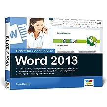Word 2013: Schritt für Schritt erklärt