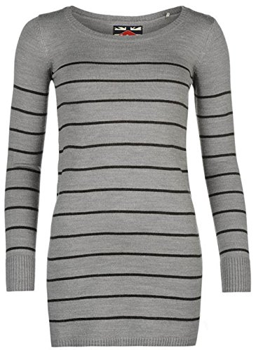 Lee Cooper -  Maglione  - Donna Grey/Charcoal 44