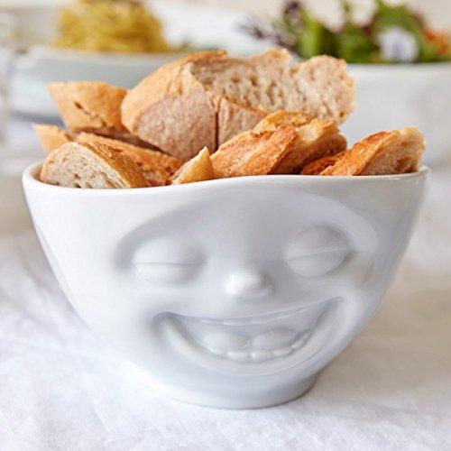 Fiftyeight Coque de lachend, Porcelaine, Blanc, 12 x 12 x 10 cm
