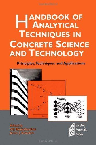 Handbook of Analytical Techniques in Concrete Science and Technology: Principles, Techniques and Applications (Building Materials Series) by V.S. Ramachandran (2002-01-14)