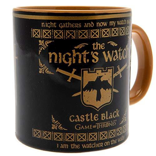 Game of Thrones MMG25195 Riesentasse aus Keramik, 568 ml, Game of Thrones-Night's Watch