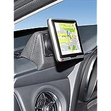 Kuda-Consola de teléfono para Toyota Auris a partir de 2015,de cuero sintético color negro)
