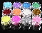 Glitzerpuder Spitze Dekoration Nail Art Glitter Shaker für Kinder Kid 's Craft Aktivitäten, Arts & Crafts Glitter, Karte machen, Dekorieren [Misc.]