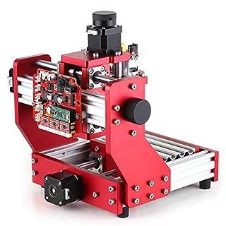 KKmoon Mini CNC Router 1310 Gravierfräsmaschine Kit PCB Holz Fräsen Laser Maschine Graveur mit ER11 Spannzange
