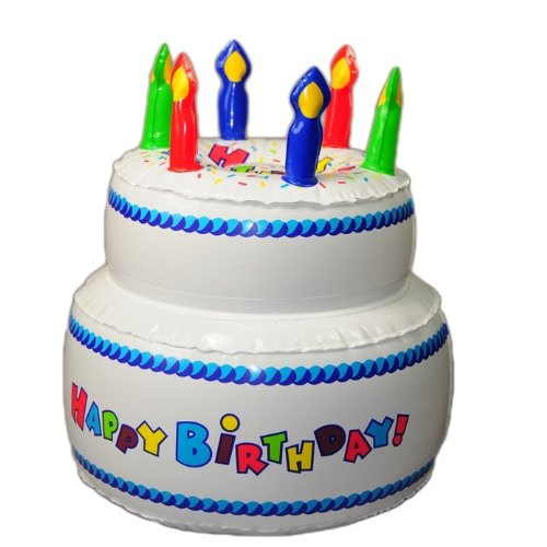 25cm Geburtstagstorte aufblasbar