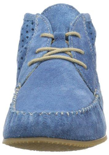 Caprice Lena-b-1 9-9-25151-22 429, Bottes à enfiler femme Bleu - Blau (MID BLUE SUEDE 859)