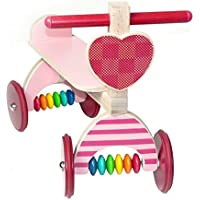 Hess Wooden Baby Riding Toy (Pink)