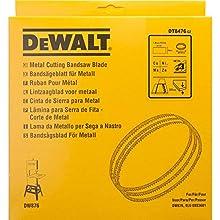 Dewalt DT8476-QZ DT8476-QZ-Hoja Sierra Cinta para Metal no Ferroso, Acero fino