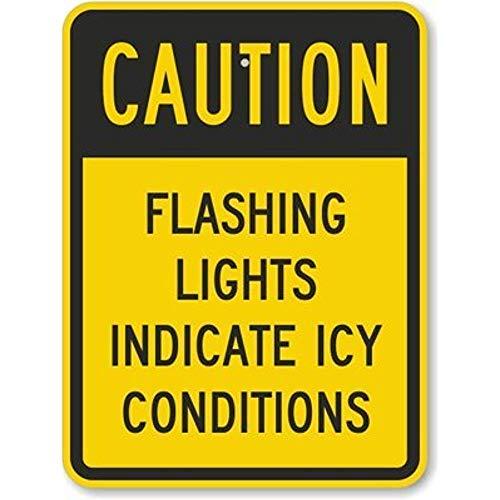 HNNT New Road Sign Warnschild Slow - Speed Limit 20 km/h Fluoreszierendes gelbes Diamant-Grade Aluminium Blechschild Straßenschild 30,5 x 40,6 cm -
