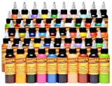 TATTOO Eternal Color Set - Silver 50pcs 30ml