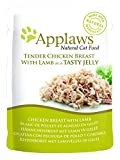 Applaws Hund Beutel Huhn mit Lamm in Gelee, 16er Pack (16 x 70 g)