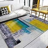 MekuvHzat Anti-rutsch Teppich,Staubsaugen - Paket Edge - Nicht vergie?en - kein formaldehyd - no-fade weiche teppiche für Wohnzimmer & Schlafzimmer dekor-O 160x280cm(63x110in)
