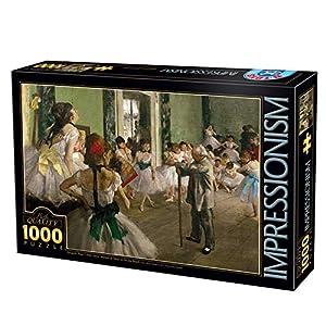 D-Toys Puzzle 1000Pcs, 66961IM03, Uni