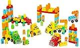 Molto - Set de construcción con 6 camiones, 200 piezas (16480)