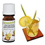 NEU Kerzen-Duftöl, 10ml Flasche, Lemongras