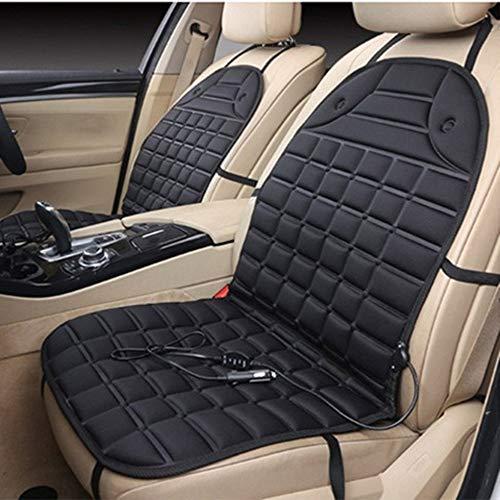 Sen-Sen Auto-Heizkissen 16V Auto-Sitzkissenbezug für die erste Sitzreihe schwarz -