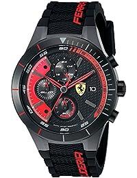 d8c4b3735d12 Ferrari Hombre 0830260 redrev EVO analógico Pantalla Cuarzo ...