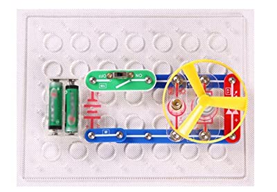 FLYING START Electronics Discovery Kit, Multi Color (198 Experiments)