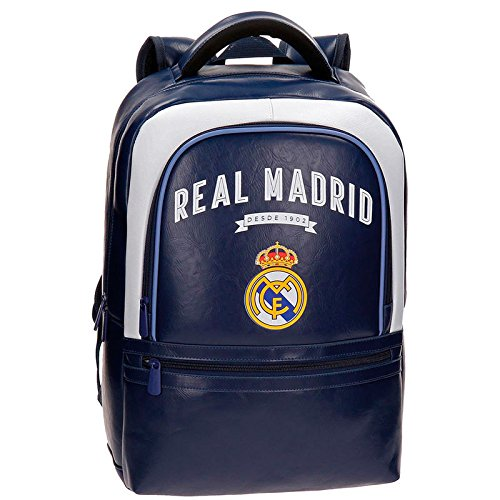 Mochila portatil Real Madrid Vintage RM adaptable 44cm