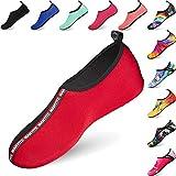 BIGU Chaussettes de Sport Aquatique de Nager de Surf de Yoga et de Plage Pieds Nus à séchage Rapide Aqua Chaussettes Slip-on Chaussures d'eau pour Enfants Hommes Femmes