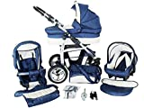 Chilly Kids Dino 3 in 1 Kinderwagen Set 18 Marine